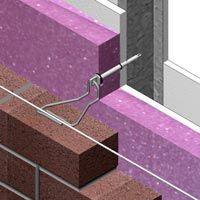 Typical Wall Assembly w/ Masonry Ties