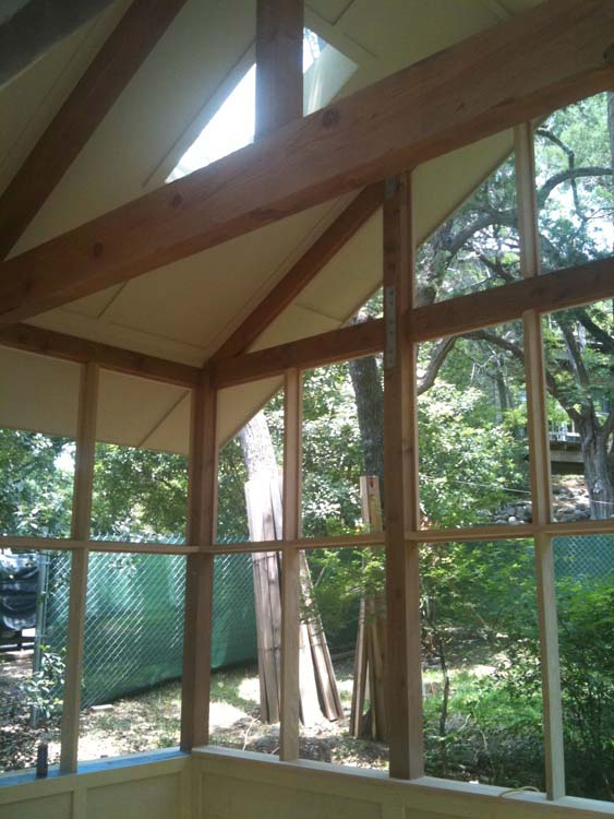 Screen Porch Truss