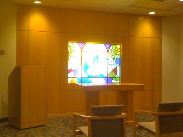 DFW All Faiths Chapel Interio