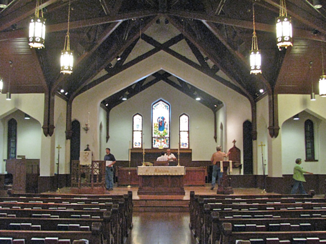 Church Design - Christ Episcopal After Restoration