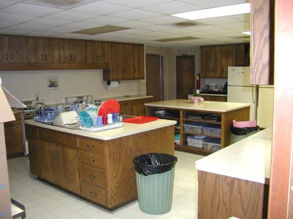 church kitchen ideas Christ Lutheran before resized 600