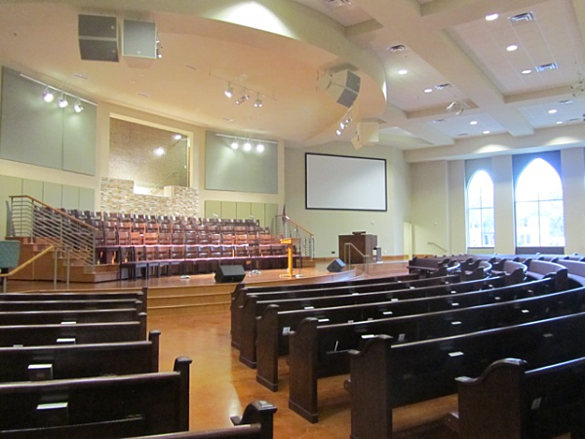 Gold Hill Baptist New Building