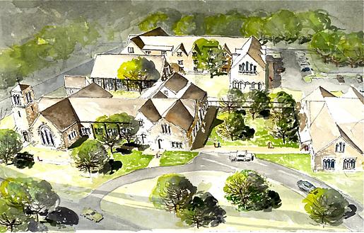 Church Master Plan watercolor Good Shepherd resized 600