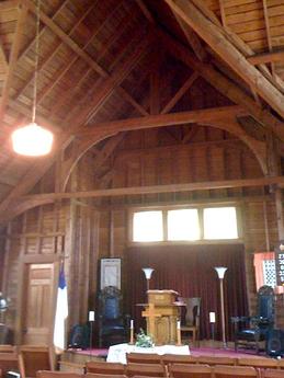 Islesford Maine Church Interior