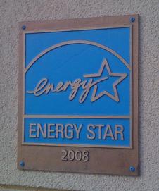 Energy Star Building Plaque