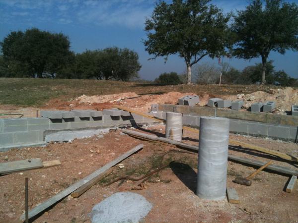 Fayettville Ranch House, Foundation
