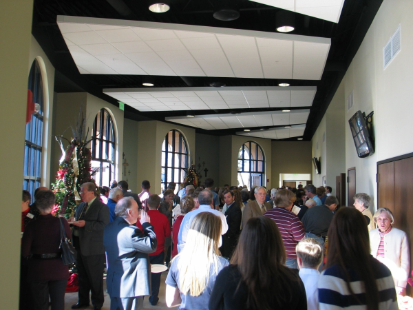 First United Methodist Church, Day Lit Foyer