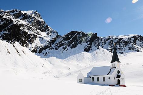Grytviken church in snow resized 600