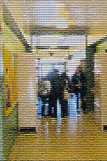 Clogged hallway