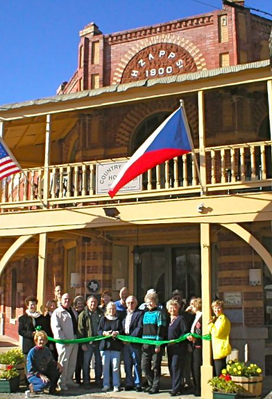 Historic Inn Preservation ribboncutting resized 600