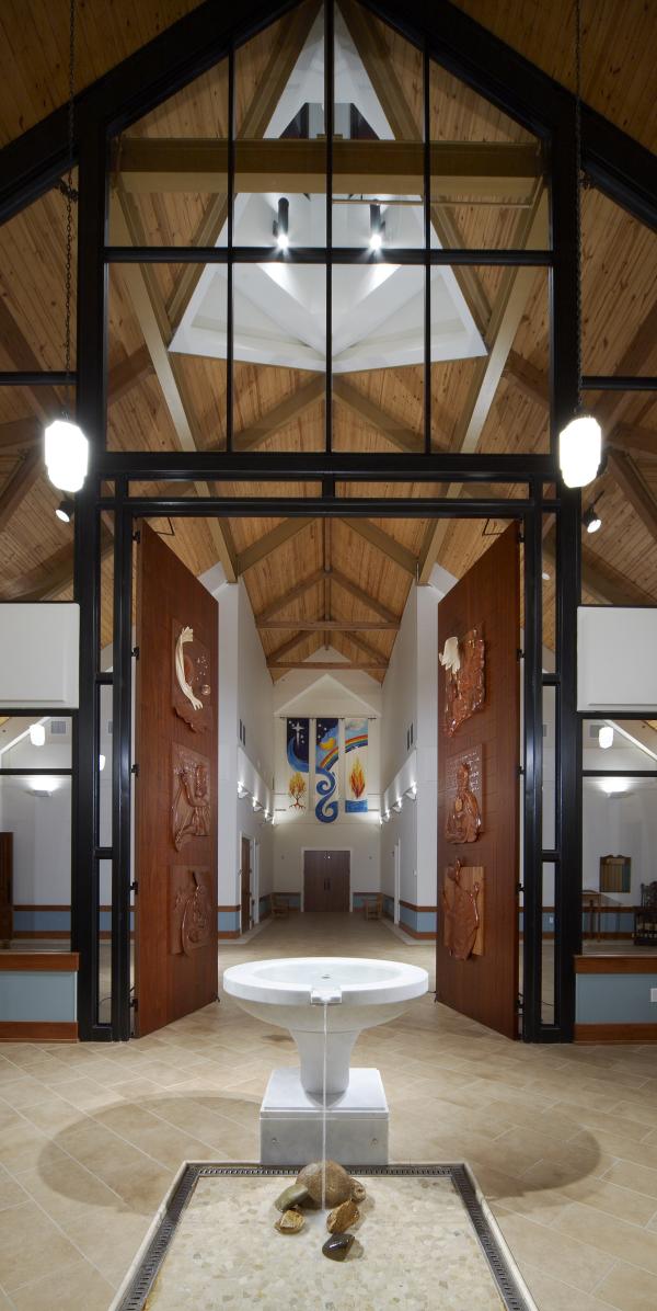 Baptismal Font -- Holy Trinity, Fayetteville, NC