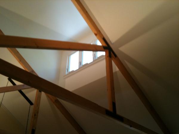Pop-up Dormer for light and chimney effect
