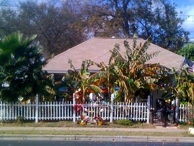Chapa House Memorial - Robert T. Martinez Street