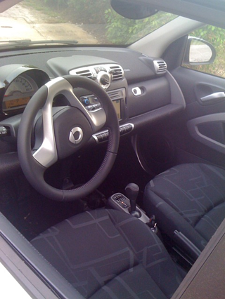 Car2Go impressive interior