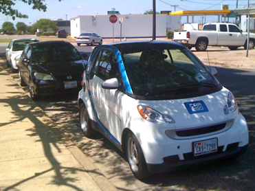 Car2Go Parallel Parked