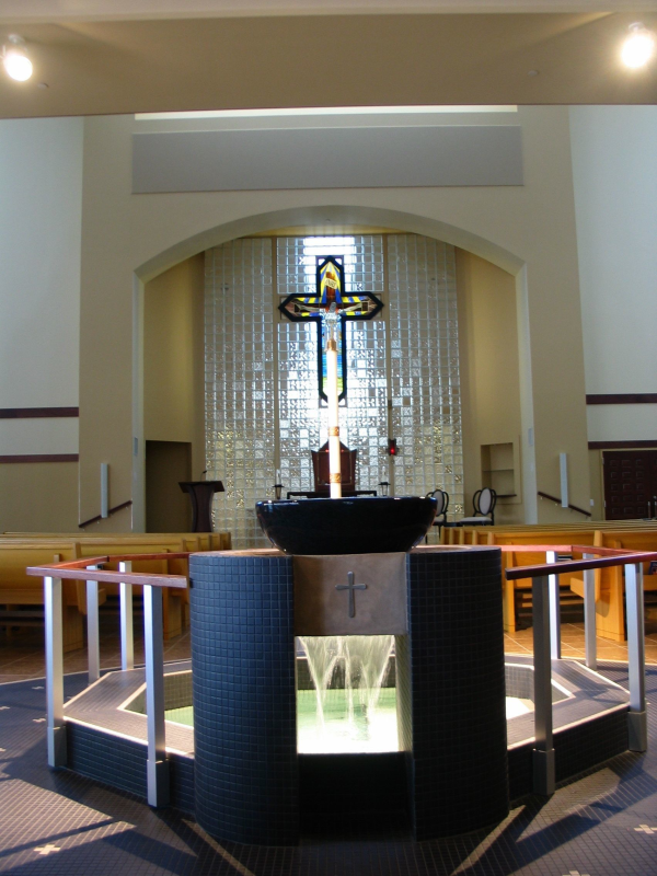 St. Albert of Trapani, Baptism