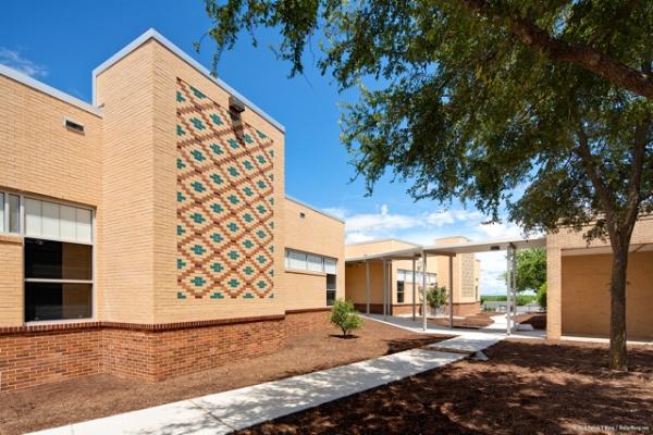 green school solid exteriors