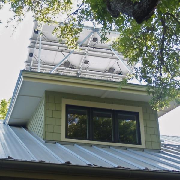 Residential Green Architecture solar dormer resized 600