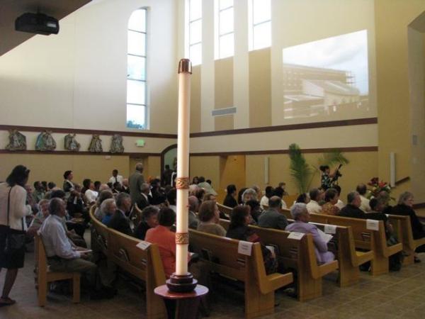 St. Albert of Trapani Catholic Church, Houston, TX --  Simple Video Projection