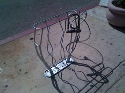 Historic District Tucson bike rack