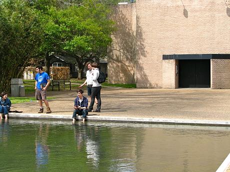 Rothko Chapel Wading Pool