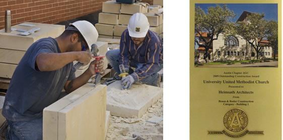 Historic Preservation Award for UUMC