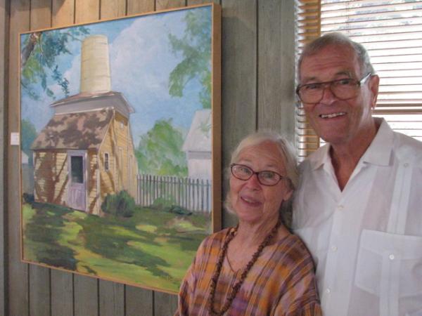 The Spirit of Fayetteville Tx, Clovis & Maryann Heimsath