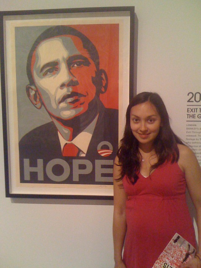 A touch of sacred - Obama Poster
