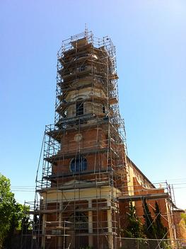church steeple restoration scaffolding resized 600