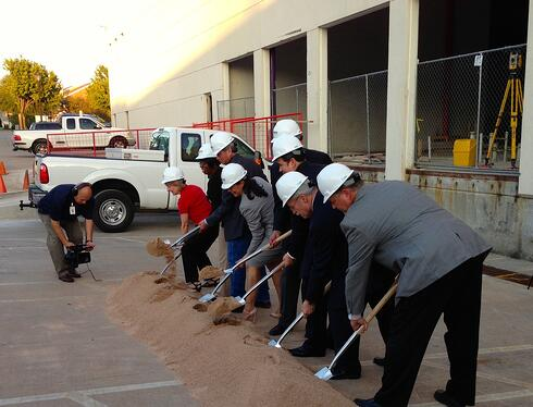 Jaime Padron School Groundbreaking