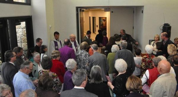 St John religious education classrooms dedication