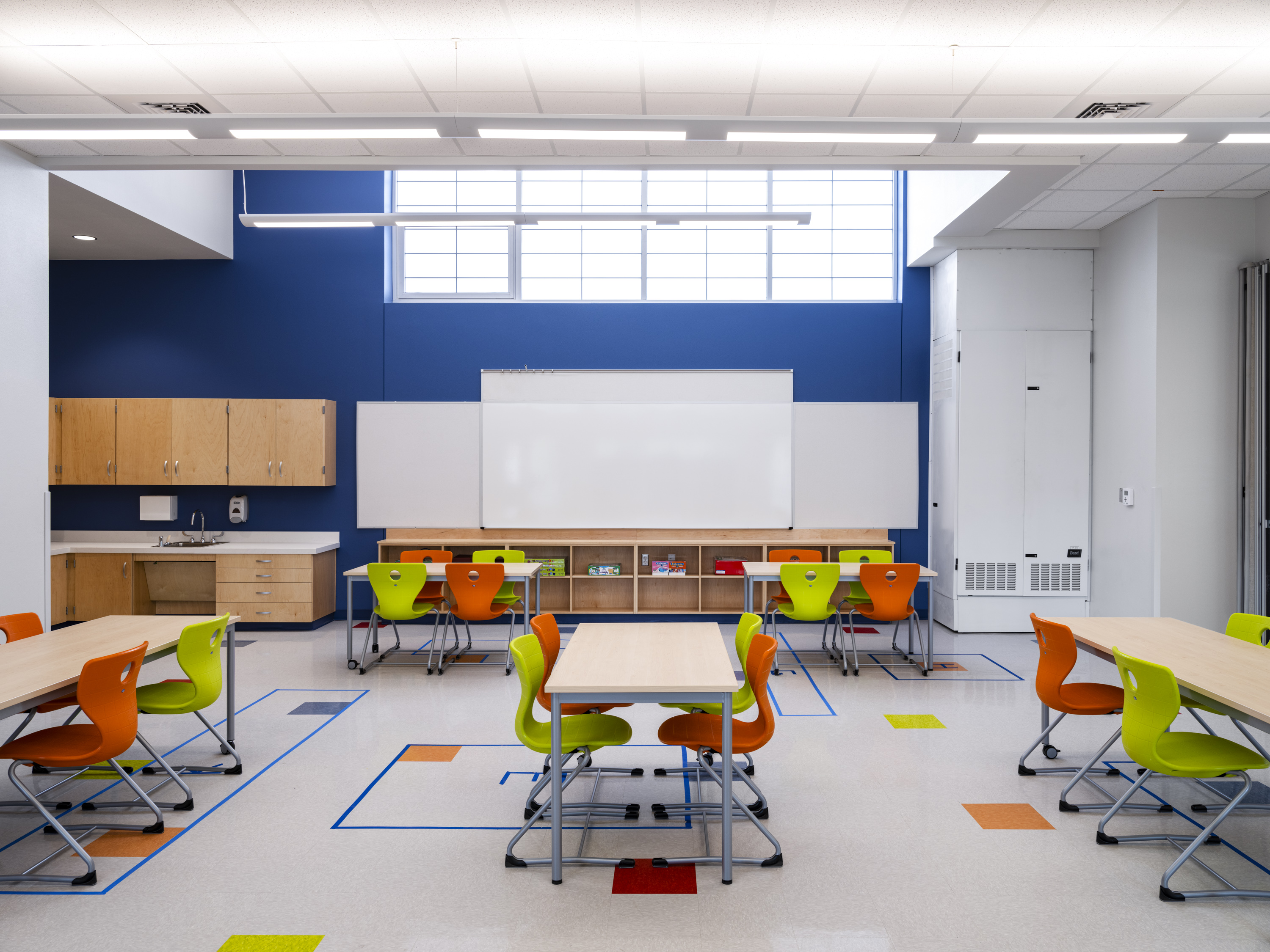 Pickle Elementary Multi-Purpose Classroom Natural Lighting