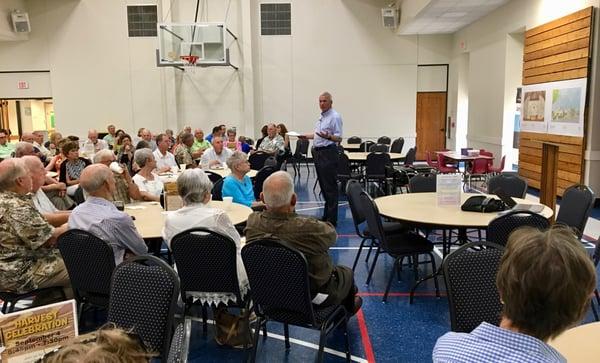 St John Lutheran Master Plan Scott Kramer presenting