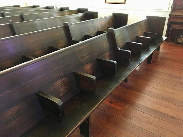 Bay Area Museum restored pews