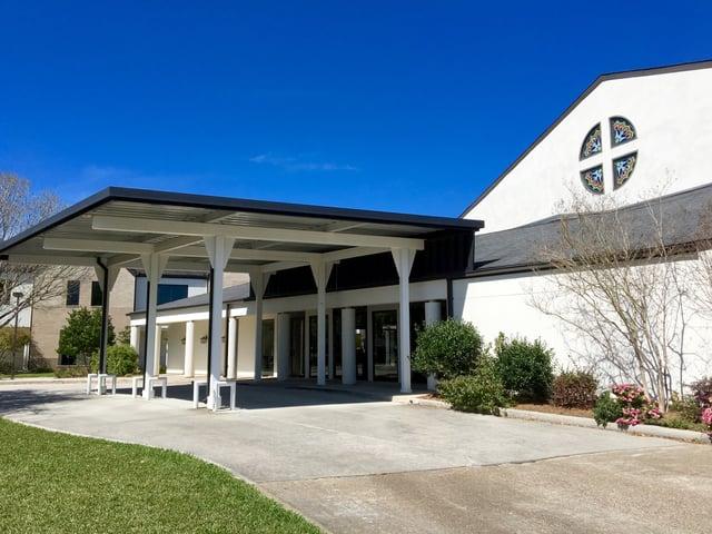 Clear Lake Presbyterian Covered Entry.jpg