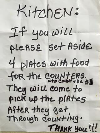 Feed the counters church sign.jpg
