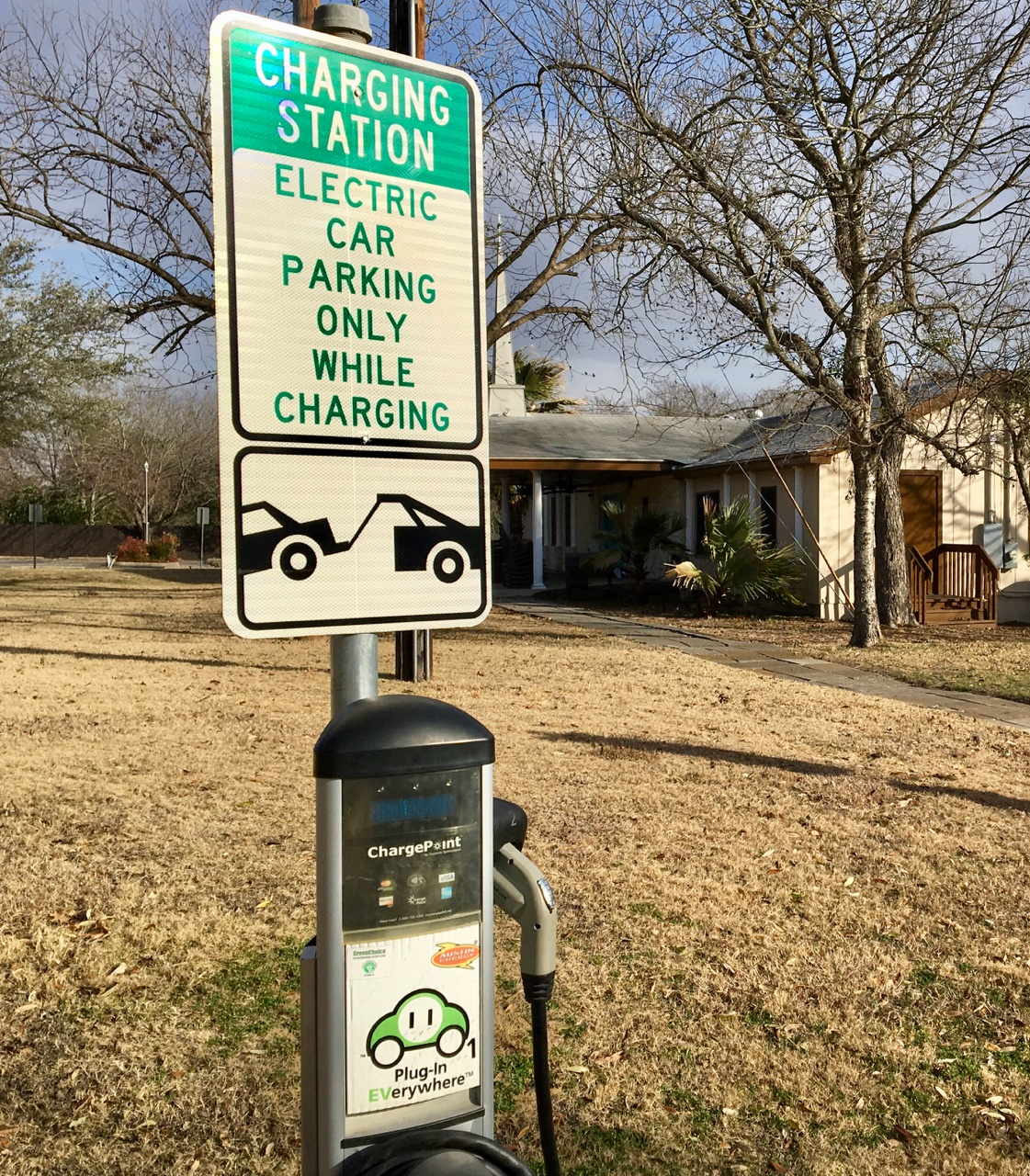 churches and Car charging