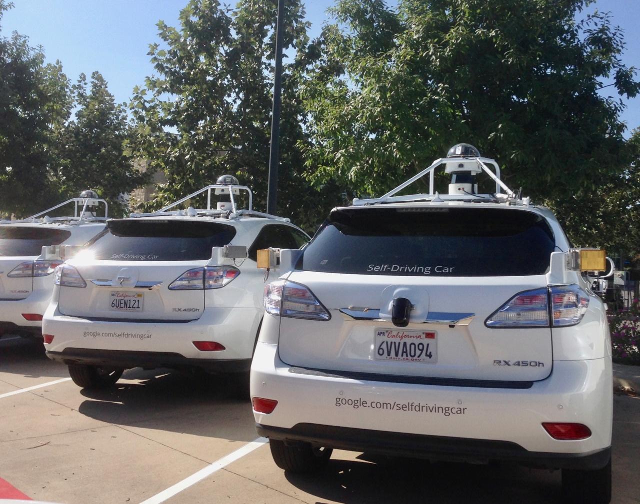 self driving google car