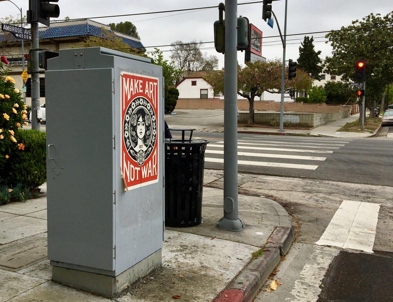 Classic Street Art in Los Feliz