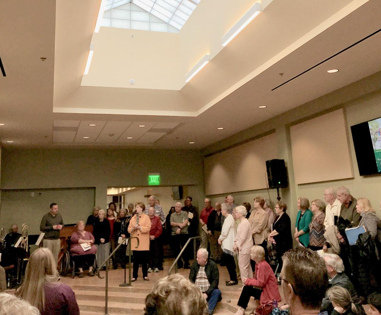 Woodlawn Austin dedicates Connection Center