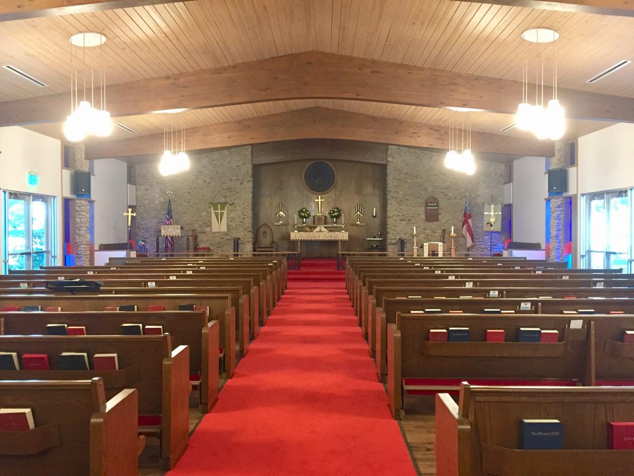 Holy Spirit Waco Nave Upgrade