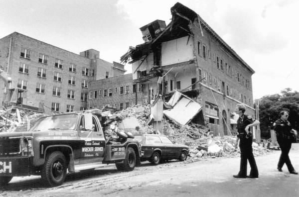 Hotel Floridan demolition