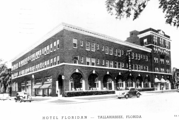 Hotel Floridian Historic Photo