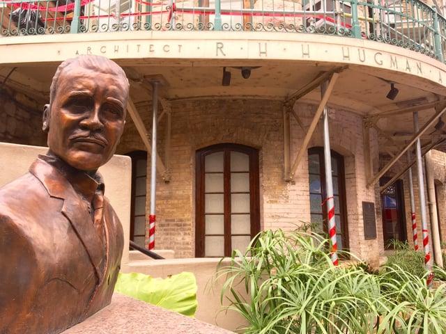 Hugman bust memorial.jpg
