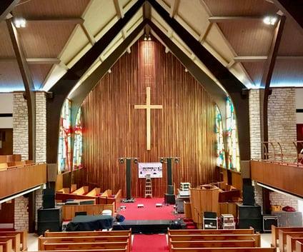 Central Presbyterian Interior