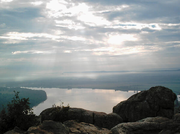 Sacred Space Petit Jean Overlook of Arkansas River