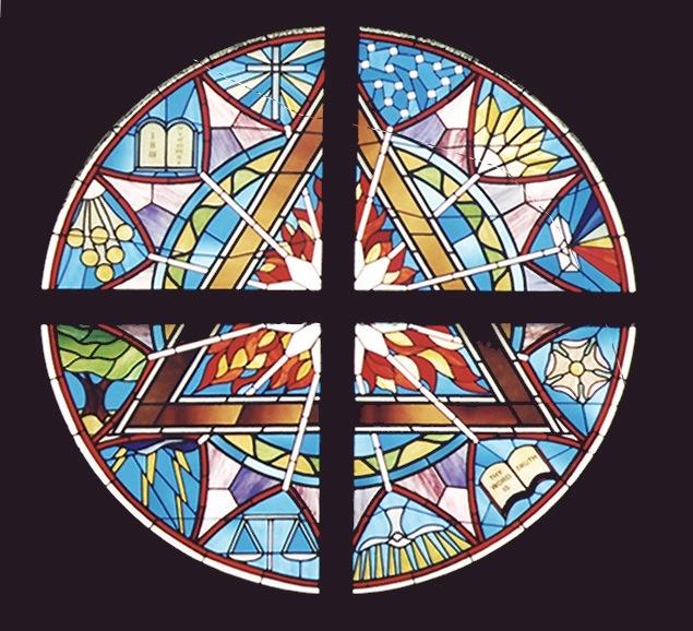 St John Lutheran Rose Window