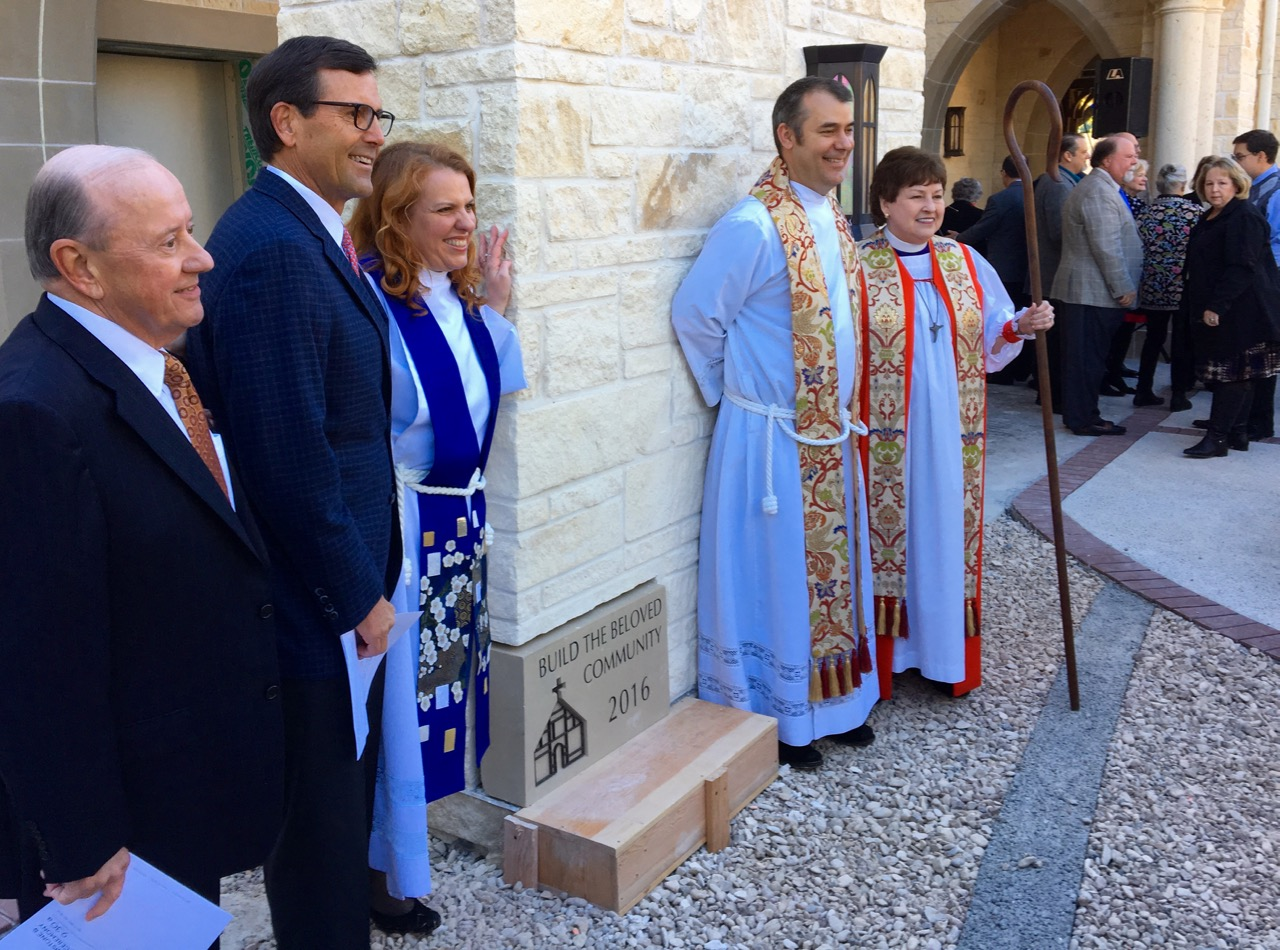 Cornerstone Ceremony for Episcopal Church of the Good Shepherd