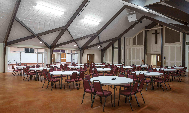 Woodlawn Baptist Church Fellowship Hall Renovation, Austin, TX, Heimsath Architects Church Design Specialists
