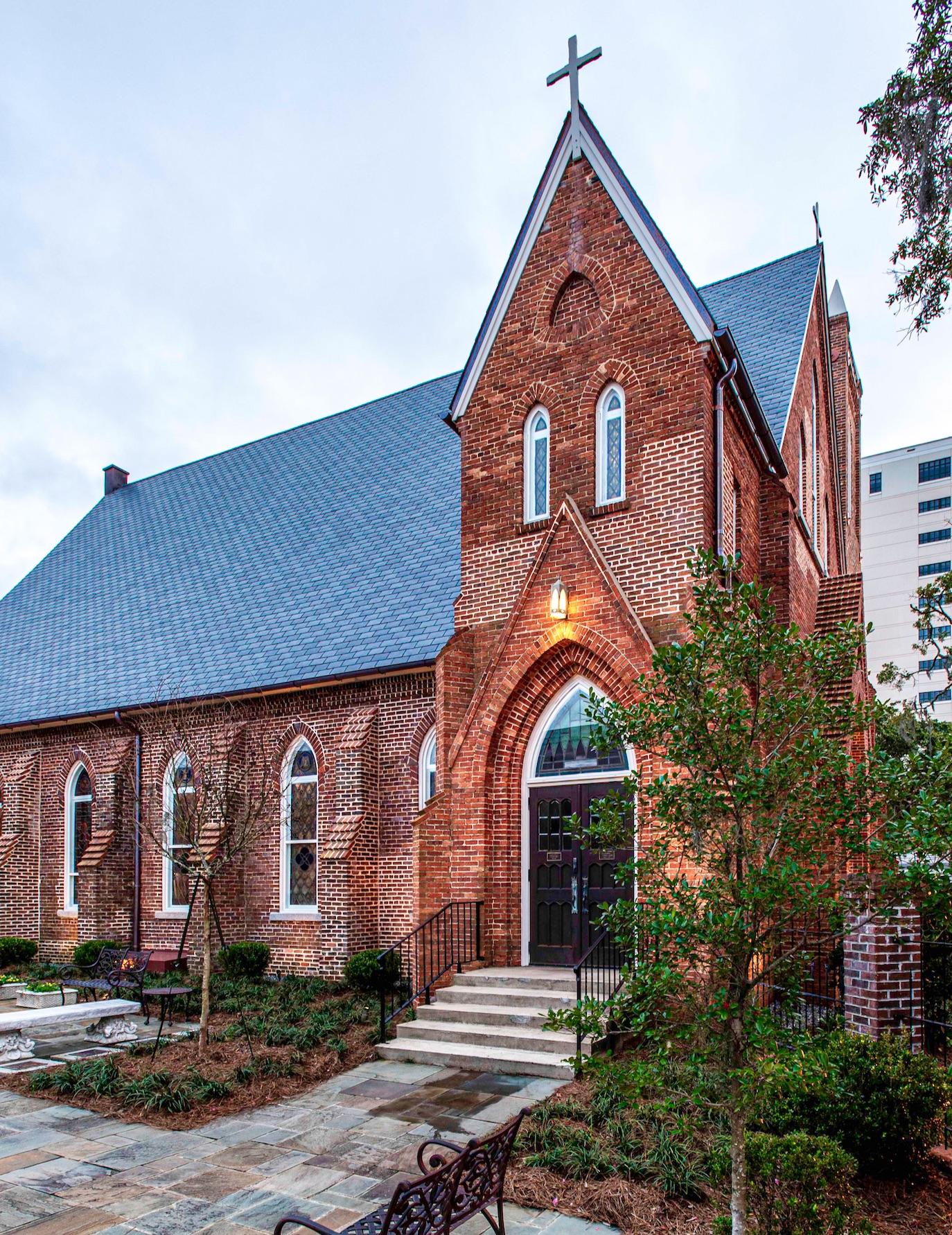 St. Johns After Restoration North Facade - Portfolio